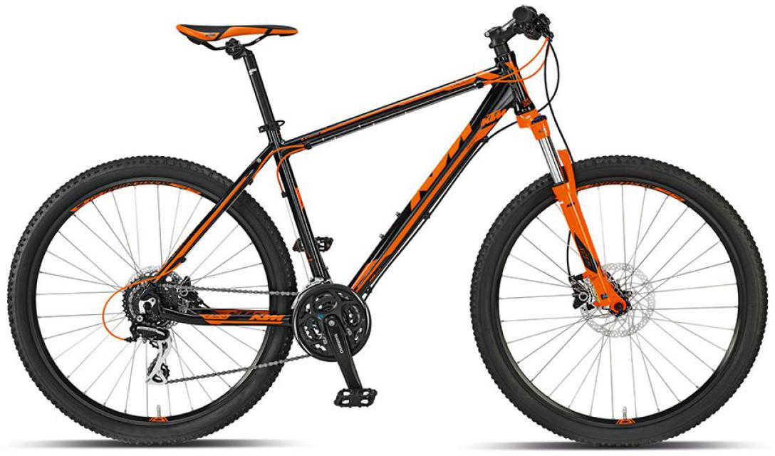 Велосипед горный KTM Chicago 27 h-Disc 2015, цвет: оранжевый, рама 17, колесо 27,5251529