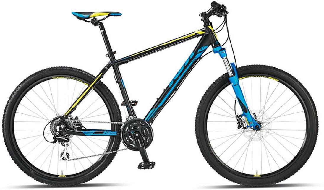 Велосипед горный KTM Chicago 27 h-Disc 2015, цвет: черный, рама 17, колесо 27,5251537