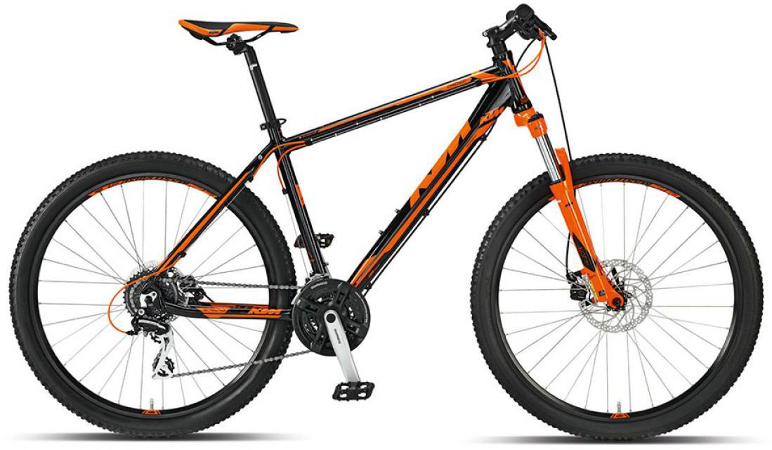 Велосипед горный KTM Chicago 27 m-Disc 2015, цвет: оранжевый, рама 14, колесо 27,5251540
