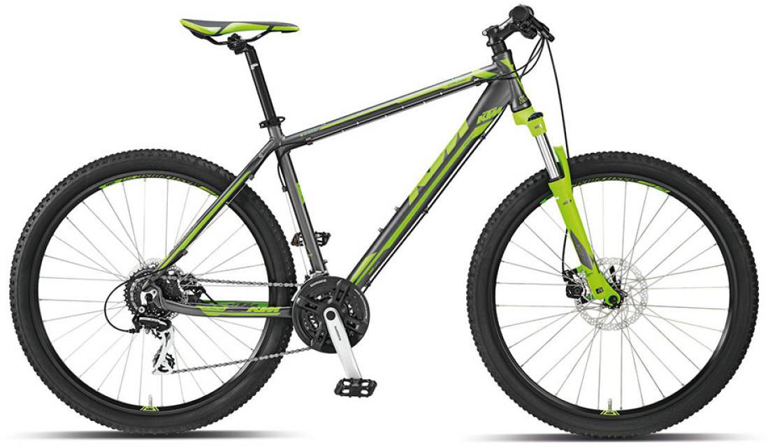 Велосипед горный KTM Chicago 27 m-Disc 2015, цвет: серый, рама 21, колесо 27,5251547
