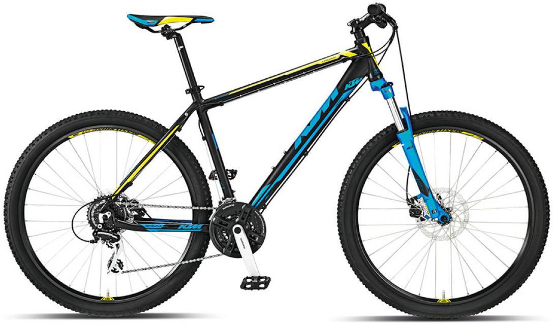 Велосипед горный KTM Chicago 27 m-Disc 2015, цвет: черный, рама 21, колесо 27,5251551