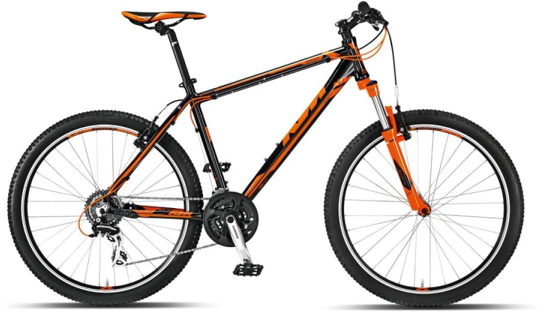 Велосипед горный KTM Chicago 26 2015, цвет: оранжевый, рама 14, колесо 26251552