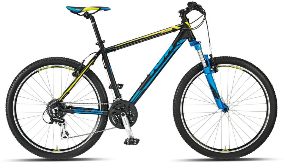 Велосипед горный KTM Chicago 26 2015, цвет: черный, рама 14, колесо 26251560
