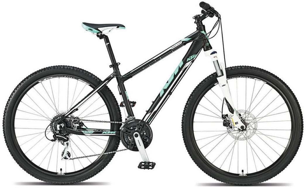 Велосипед женский KTM Penny Lane 27 m-Disc 2015, цвет: черный, рама 18,5, колесо 27,5251566