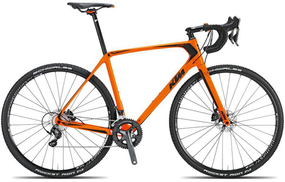 Велосипед шоссейный KTM Canic CXC 2015, цвет: оранжевый, рама 22,5, колесо 28251579