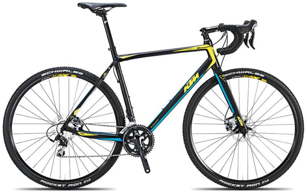 Велосипед шоссейный KTM Canic CXA 2015, цвет: черный, рама 20,5, колесо 28251582