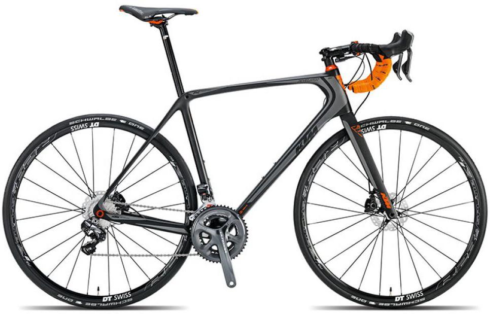 Велосипед шоссейный KTM Revelator Sky Di2 2015, цвет: черный, рама 20,5, колесо 28251586