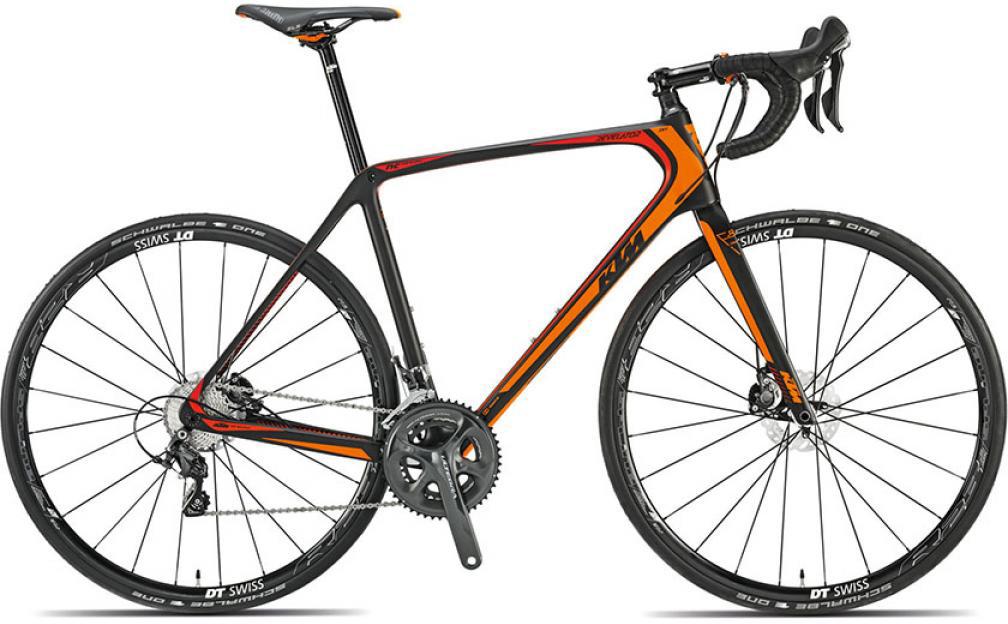Велосипед шоссейный KTM Revelator Sky 2015, цвет: черный, рама 21,5, колесо 28251591
