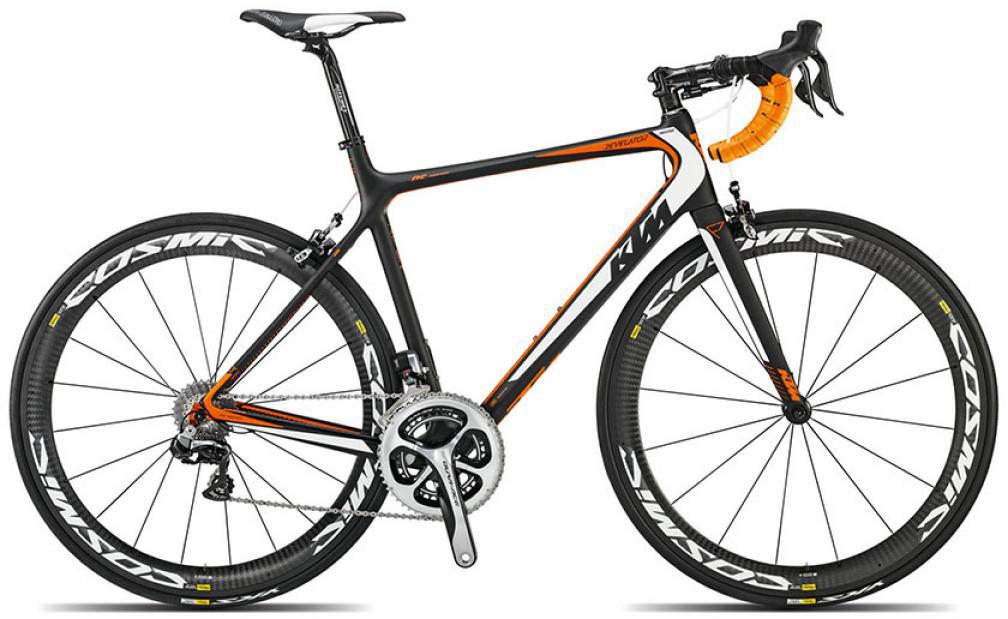 Велосипед шоссейный KTM Revelator Prestige Di2 2015, цвет: черный, рама 23, колесо 28251597