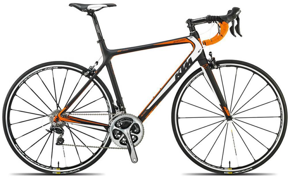 Велосипед шоссейный KTM Revelator Prime 2015, цвет: черный, рама 23, колесо 28251601