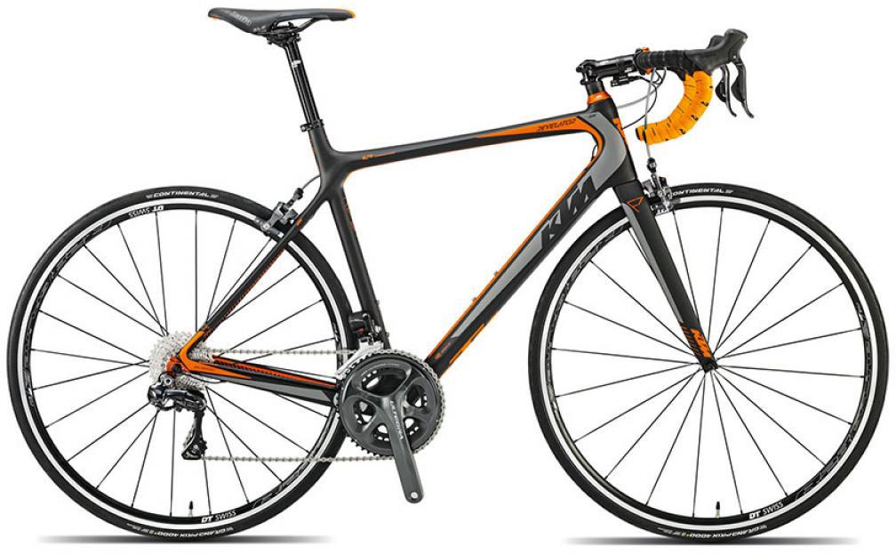 Велосипед шоссейный KTM Revelator Elite Di2 2015, цвет: черный, рама 22,5, колесо 28251618