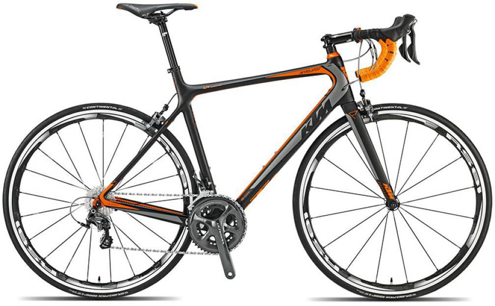 Велосипед шоссейный KTM Revelator Elite 2015, цвет: черный, рама 22,5, колесо 28251623