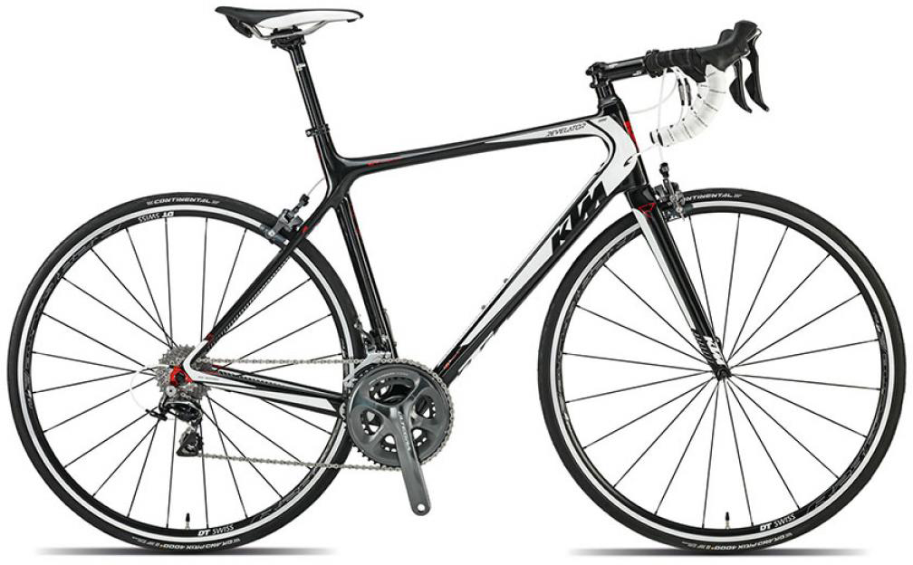 Велосипед шоссейный KTM Revelator 5000 2015, цвет: черный, рама 21,5, колесо 28251633