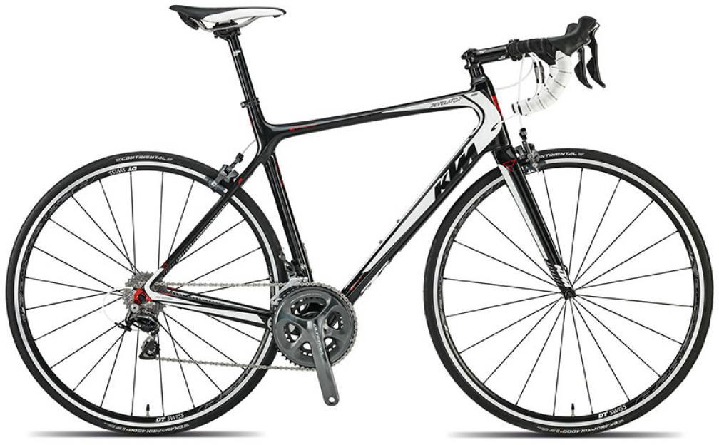 Велосипед шоссейный KTM Revelator 5000 2015, цвет: черный, рама 22,5, колесо 28251635