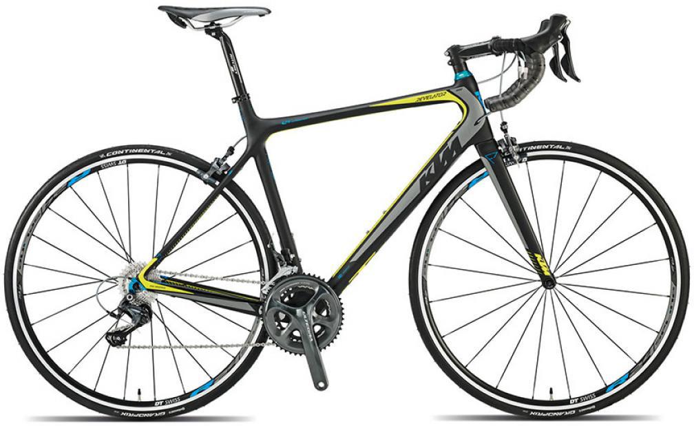 Велосипед шоссейный KTM Revelator 4000 2015, цвет: черный, рама 21,5, колесо 28251641