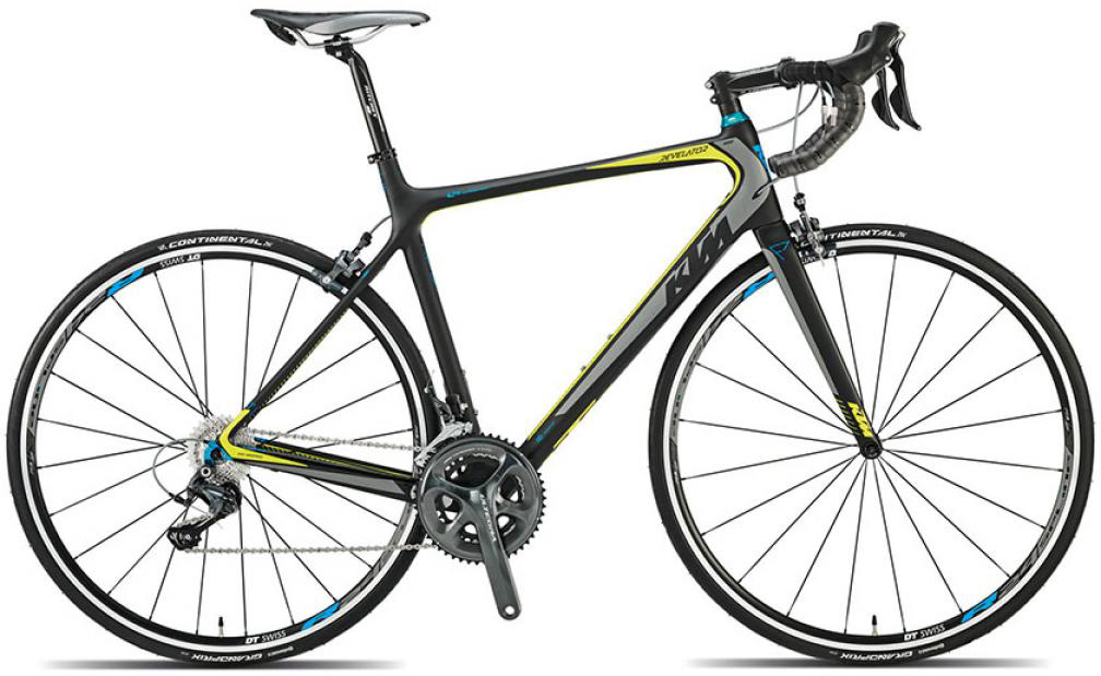 Велосипед шоссейный KTM Revelator 4000 2015, цвет: черный, рама 23, колесо 28251644