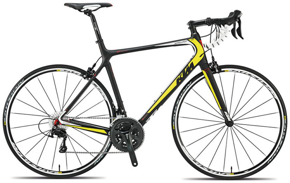 Велосипед шоссейный KTM Revelator 3500 2015, цвет: черный, рама 23, колесо 28251649