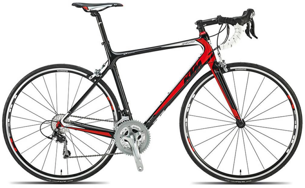 Велосипед шоссейный KTM Revelator 3300 2015, цвет: черный, рама 23, колесо 28251654