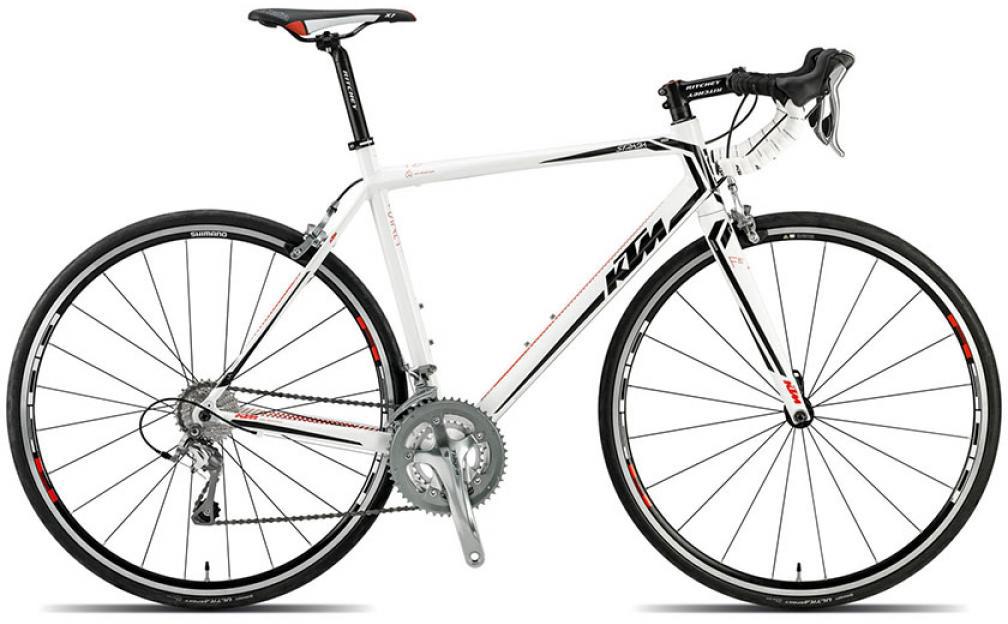 Велосипед шоссейный KTM Strada 1000 2015, цвет: белый, рама 22,5, колесо 28251665