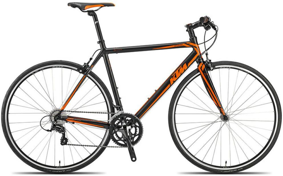 Велосипед шоссейный KTM Strada 800 speed 2015, цвет: черный, рама 20,5, колесо 28251673