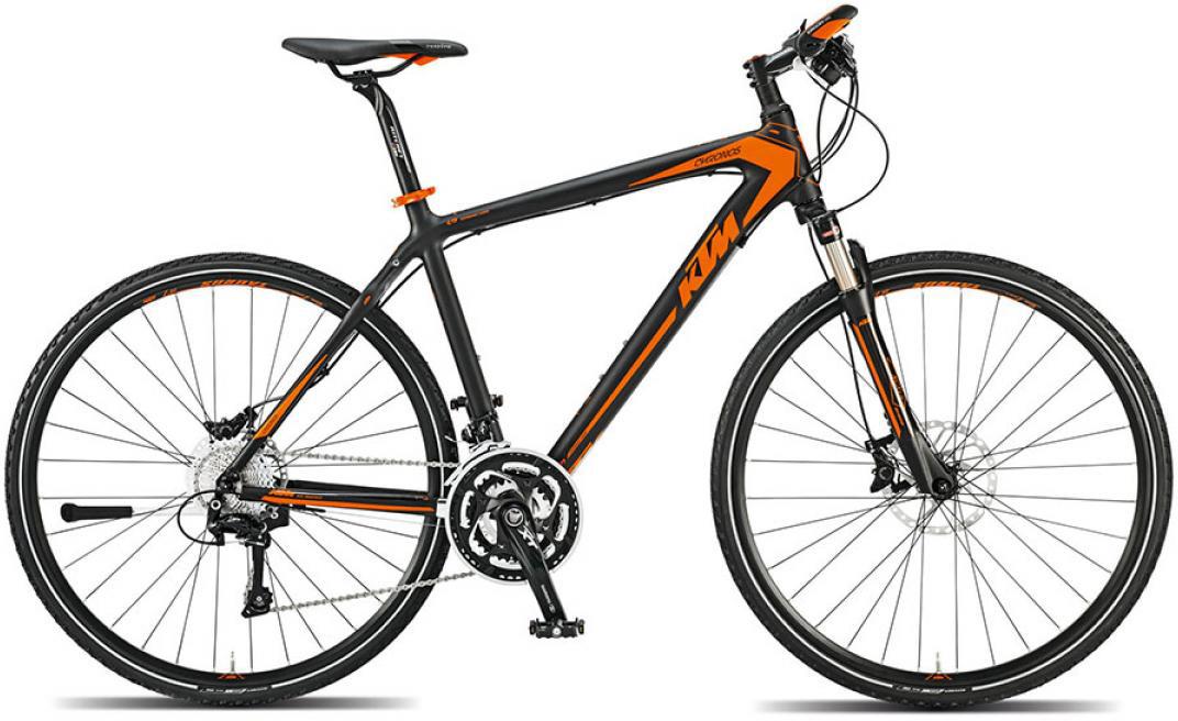 Велосипед городской KTM Chronos 2015, цвет: черный, рама 18, колесо 28251679