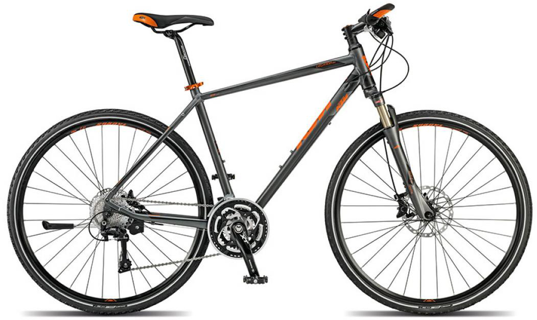 Велосипед городской KTM Legarda race 2015, цвет: черный, рама 22, колесо 28251687