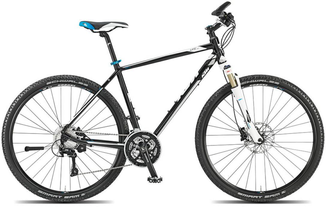 Велосипед городской KTM Life race 2015, цвет: черный, рама 22, колесо 28251691