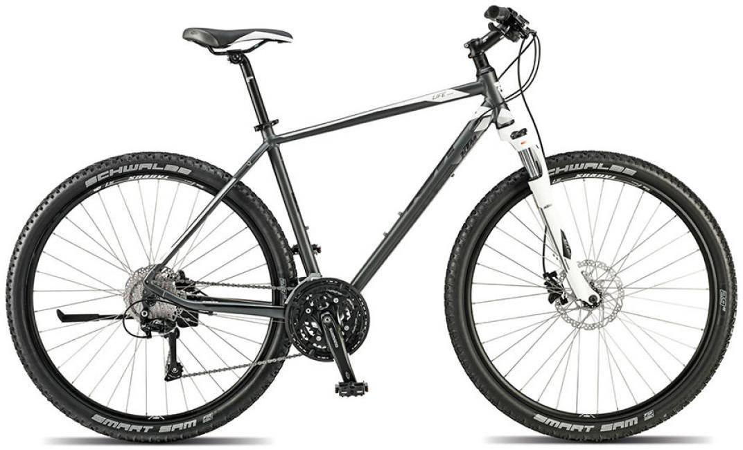Велосипед городской KTM Life sprint 2015, цвет: серый, рама 22, колесо 28251698