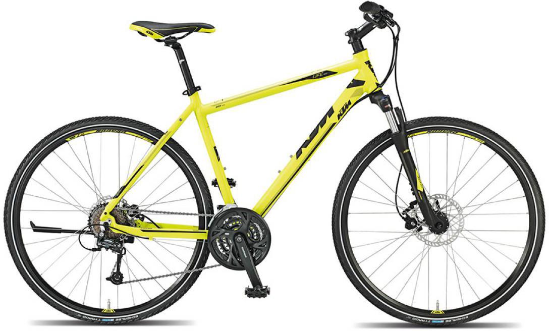 Велосипед городской KTM Life road 2015, цвет: желтый, рама 18, колесо 28251707