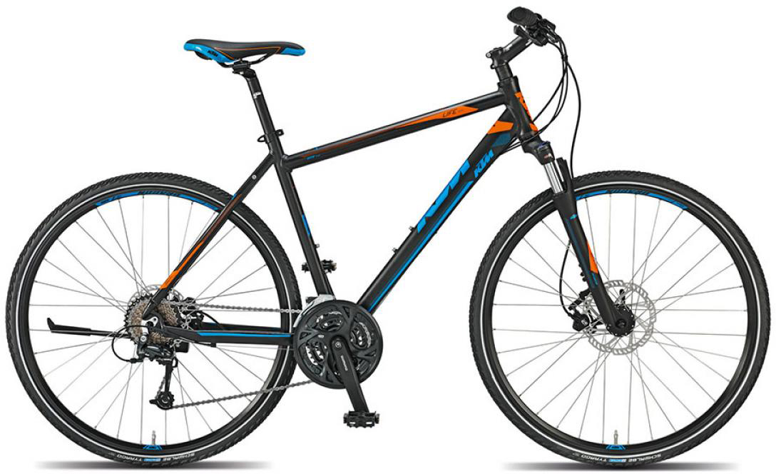 Велосипед городской KTM Life road 2015, цвет: черный, рама 18, колесо 28251711