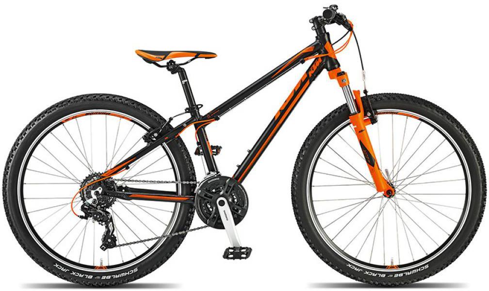 Велосипед детский KTM Wild speed 26 2015, цвет: черный, колесо 26251722