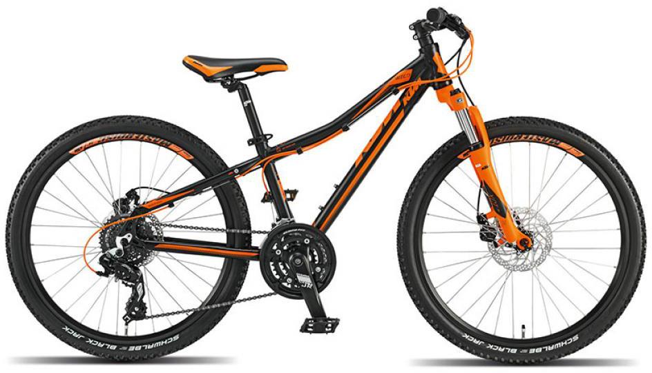 Велосипед детский KTM Wild speed Disc 24 2015, цвет: черный, колесо 24251723