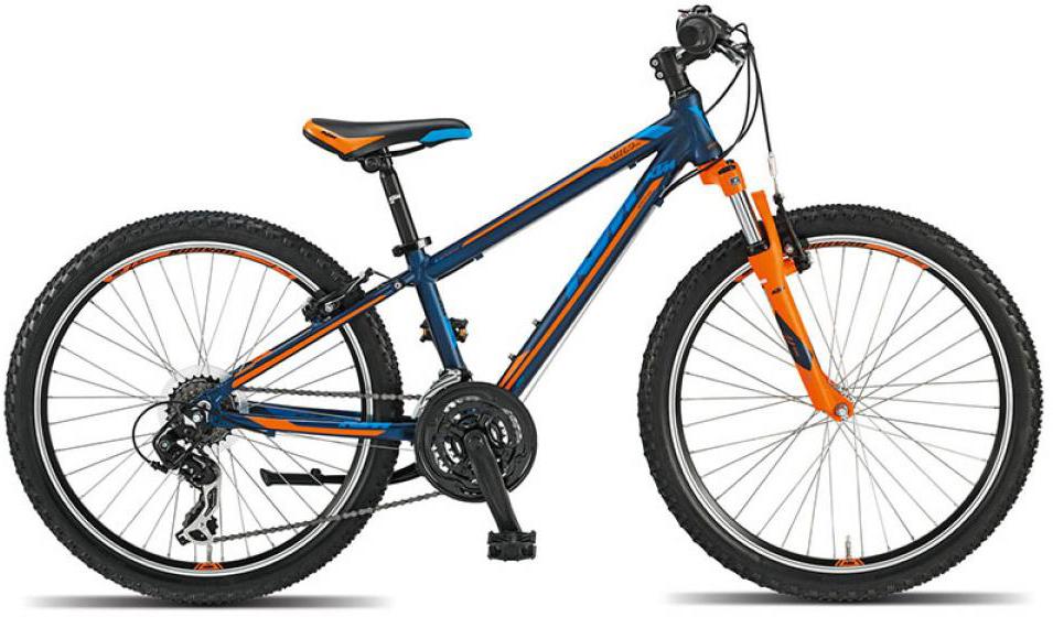 Велосипед детский KTM Wild cross 24 2015, цвет: черный, колесо 24251726