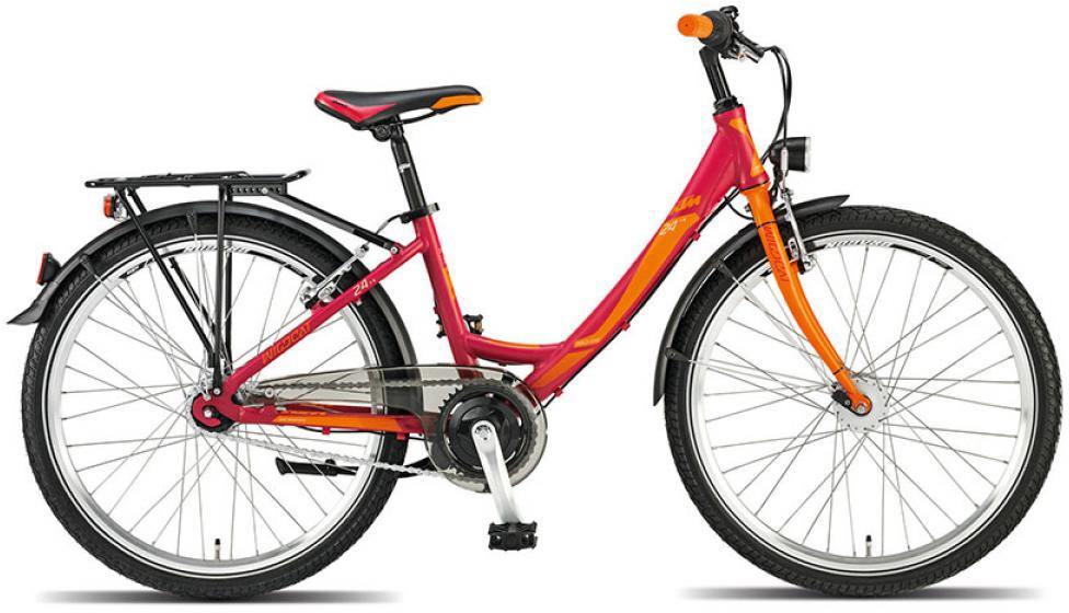 Велосипед детский KTM Wild Cat 7 24 2015, цвет: красный, колесо 24251734