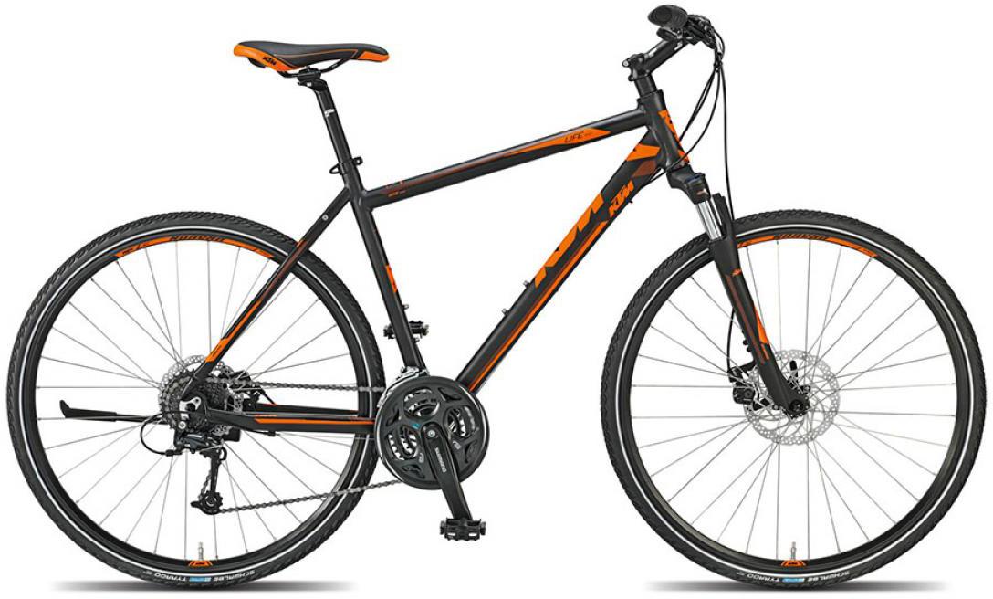 Велосипед городской KTM Life track 2015, цвет: черный, рама 18, колесо 28251829