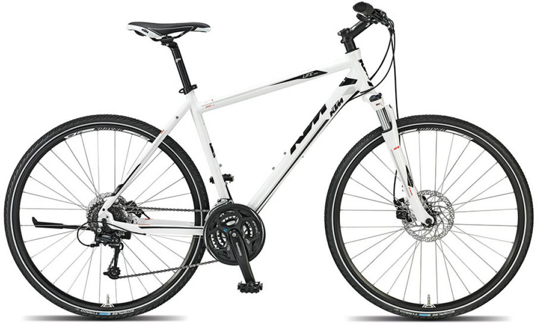 Велосипед городской KTM Life track 2015, цвет: белый, рама 22, колесо 28251835