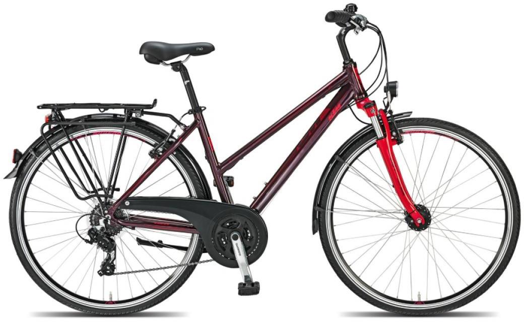 Велосипед женский KTM Life Joy 2015, цвет: красный, рама 22, колесо 28253946