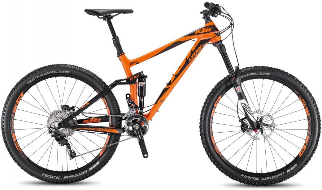 Велосипед горный KTM Lycan LT 272 2F 2016, двухподвесный, цвет: оранжевый, рама 19, колесо 27,5267061