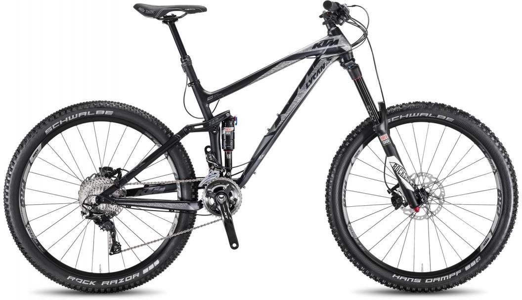Велосипед горный KTM Lycan LT 273 2F 2016, двухподвесный, цвет: черный, рама 19, колесо 27,5267067