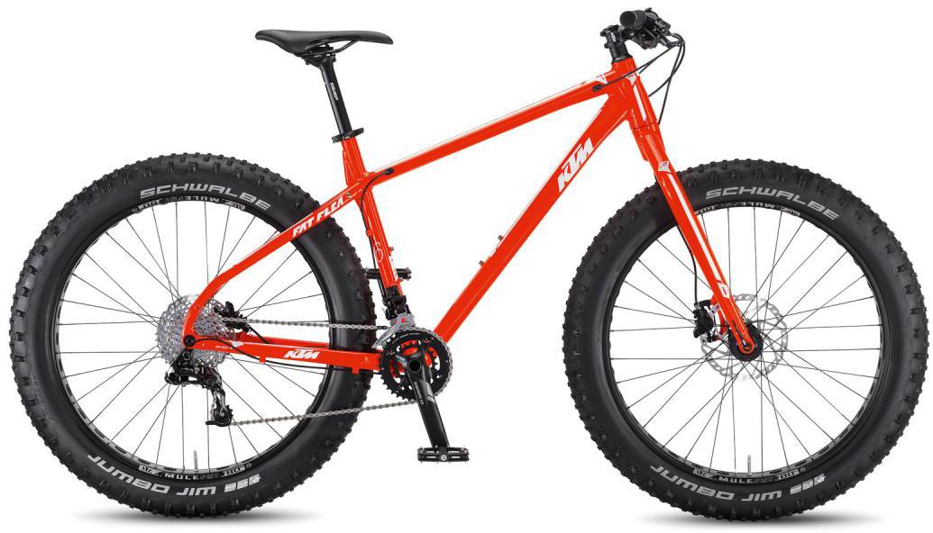 Велосипед горный KTM Fat Flea 2016, цвет: оранжевый, рама 19, колесо 26267082