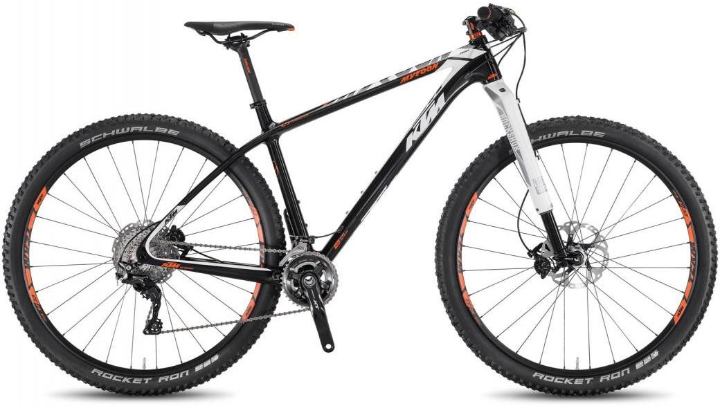 Велосипед горный KTM Myroon 29 Prime B22 2016, цвет: черный, рама 15, колесо 29267088