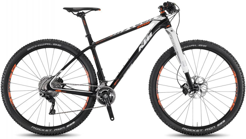 Велосипед горный KTM Myroon 29 Prime B22 2016, цвет: черный, рама 17, колесо 29267089