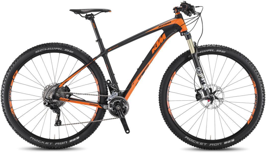 Велосипед горный KTM Myroon 29 Master 3F 2016, цвет: черный, рама 21, колесо 29267117