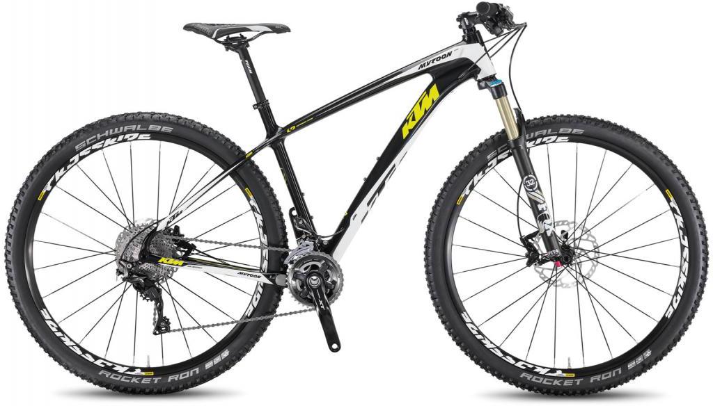 Велосипед горный KTM Myroon 29 Elite 2F 2016, цвет: черный, рама 17, колесо 29267118