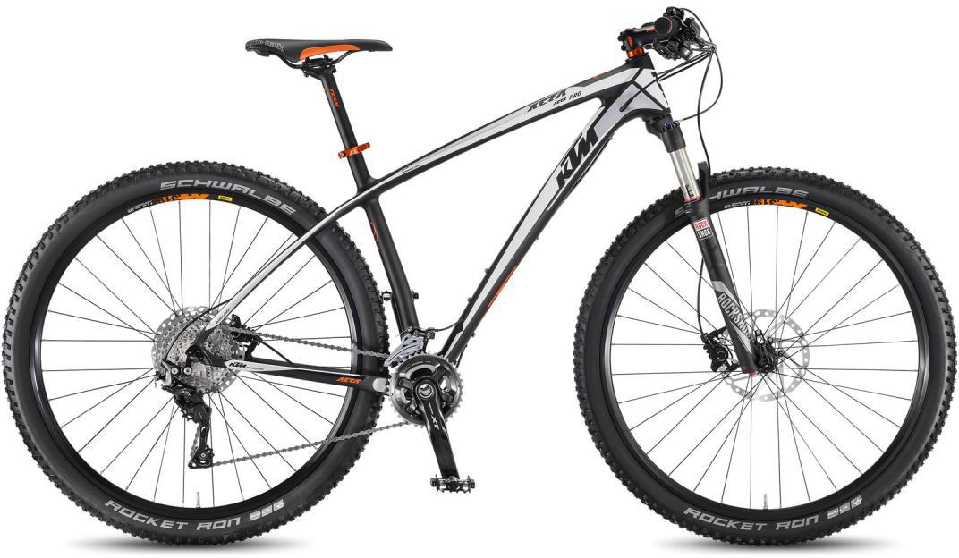 Велосипед горный KTM Aera 29 Pro 2F 2016, цвет: черный, рама 19, колесо 29267125