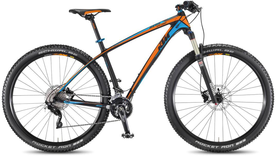 Велосипед горный KTM Aera 29 Comp 3F 2016, цвет: черный, рама 17, колесо 29267133