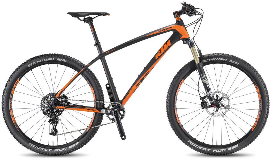 Велосипед горный KTM Myroon 27 Master 1F 2016, цвет: черный, рама 19, колесо 27,5267145