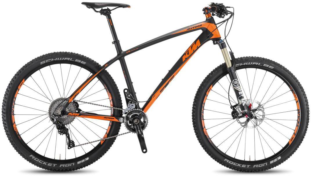 Велосипед горный KTM Myroon 27 Master 2F 2016, цвет: черный, рама 17, колесо 27,5267148