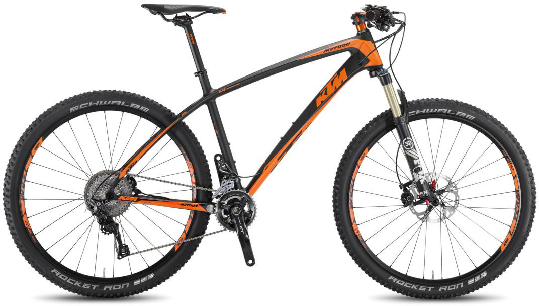 Велосипед горный KTM Myroon 27 Master 3F 2016, цвет: черный, рама 19, колесо 27,5267153
