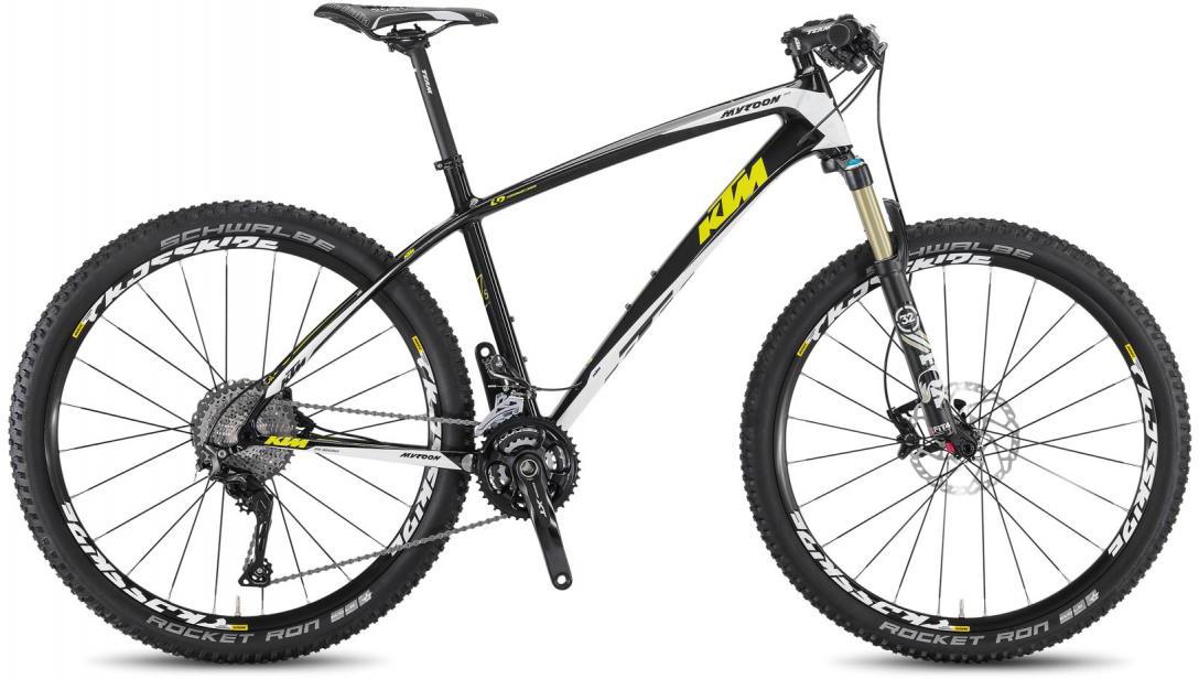 Велосипед горный KTM Myroon 27 Elite 2F 2016, цвет: черный, рама 19, колесо 27,5267157